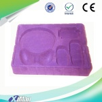 flock PS thermoforming tray for gift packaging