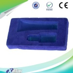thermoformed plastic flocked blister tray